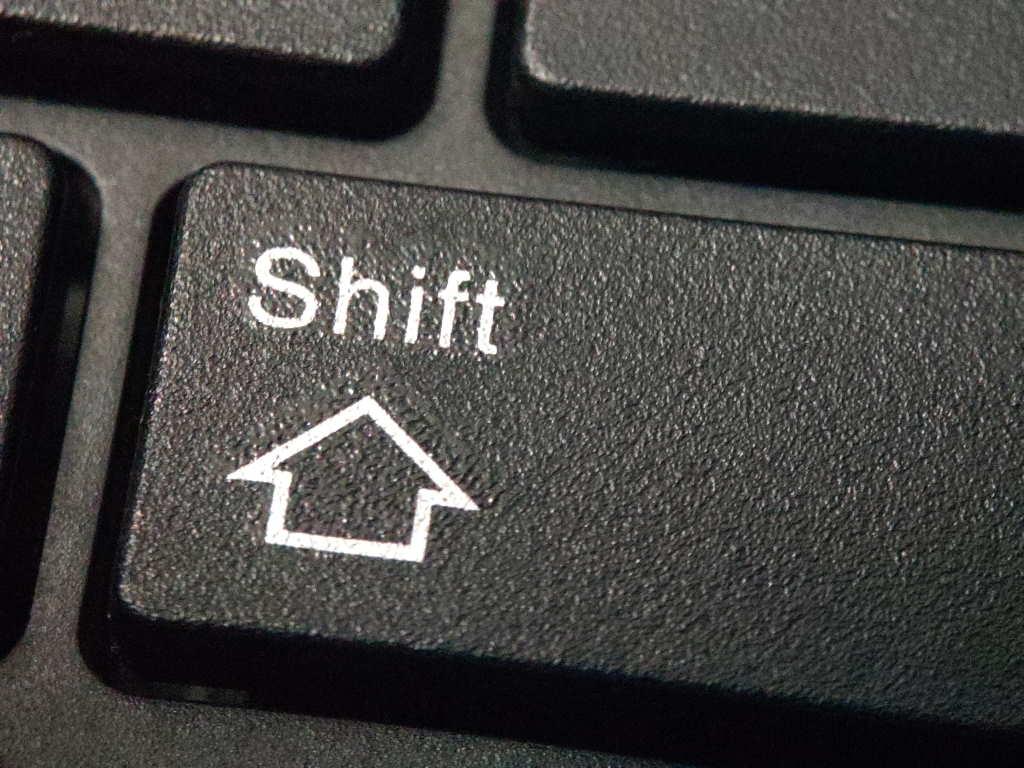 Shift Key does not seem to work in Full Screen Mode for Remote Desktop (sometimes) - Jigsolving